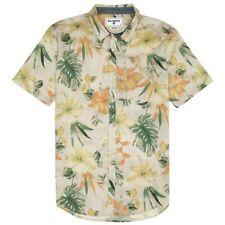 BILLABONG Men's SPINNER FLORAL S/S Button Shirt - BON - Small - NWT