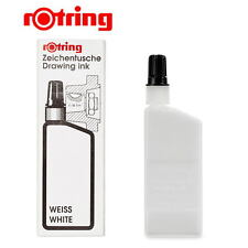 Rotring Isograph Technical Drawing Pen, Liquid Ink, 23 ml,White