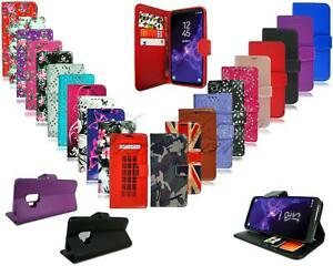 For Sony Xperia L2 H3311 H4311 New Black Leather Flip Wallet Phone Case Cover
