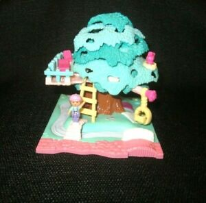 "Polly Pocket ""Pollyville Tree House & Lulu Doll Only"" Bluebird Vintage 1994"