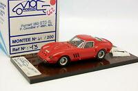MOG Modeles Résine 1/43 - Ferrari 250 GTO Paul Cavallier
