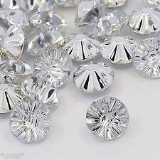 20 chiaro acrilico Stass cristallo bottoni elegante bestseller 13mm cucire realizzerà #