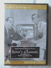 68037 DVD - Love's A Luxury [NEW / SEALED]  1949  ODNF075
