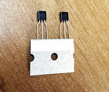 2 x transistor 2N5551 Fairchild NPN haute tension 160V faible bruit ß>80. NEUF