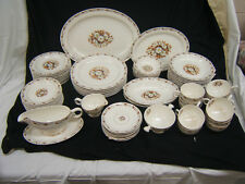 Harmony House Hall Fairfax Service for 8 w/ Serving Pieces  & Extras VGC
