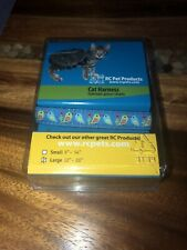 New listing New Rc Pet Products Cat Adjustable Harness Large 12-20� Love Birds Design