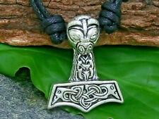 Thor Martillo Colgante Metal Martillo de Thor Mjöllnir Celta Vikingo