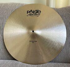 "Paiste Masters 20"" Extra Thin Cymbal"