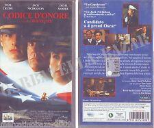 CODICE D'ONORE (1992) VHS ORIGINALE NUOVA SIGILLATA BRAND NEW