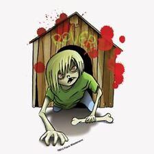 Zombie Kids Reginald Frank Wiedermann Yujean Sticker Decal Novelty Stickers