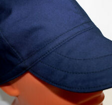 #21 Dark Blue/Black - Reversible - 100% Cotton Fabric Welding Cap - made in USA