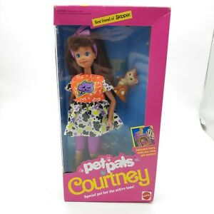 "1991 Barbie ""Pet Pals"" Courtney Doll Best Friend of Skipper"