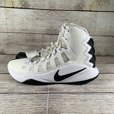 Nike Hyperdunk 2016 Basketball Shoes White/Black 844368-100  Mens Size 7