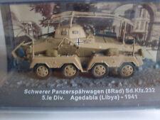 Schwerer Panzerspähwagen (8Rad) Agedabia 1941, Militär Magazinmodell 1:72