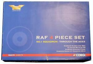 CORGI 1:72 SCALE AA99170 RAF 4 PIECE SET 'THROUGH THE AGES'