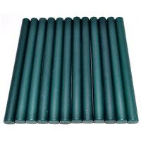 Hunter Green Vintage Sealing Wax Sticks for Hot Melting Glue Gun - 10 Sticks