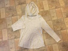 Made for Life Petite Long Sleeve Hoodie in Cream Sz PM Reg. $36 @ JCP