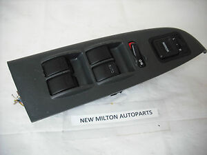 A HONDA ACCORD MK6 FRONT DRIVERS DOOR ELECTRIC WINDOW MIRROR SWITCH PACK
