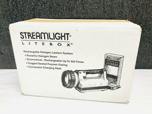 NEW Streamlight 45127 Litebox Power Failure System Floodlight, Orange SEALED