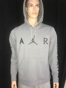 Nike Jordan Jumpman Pullover Hoodie Heather Gray Carbon MSRP$90.00