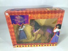 Disney Hunchback of GOBBO DI NOTRE DAME Esmeralda & Gypsy Horse NUOVO
