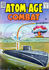Atom-Age Combat #2 - 1959 - Comic Book Cover Poster