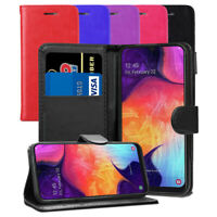 For Samsung Galaxy A50 - Premium Slim Leather Wallet Flip Case Book Folio Cover
