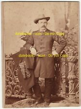 RARE Unique UNKNOWN Cabinet Photo Image c 1885 Young Theodore Teddy Roosevelt ?