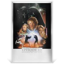 STAR WARS: REVENGE OF THE SITH 2020 NUIE 35g PURE SILVER FOIL POSTER
