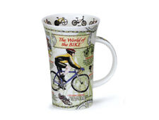 Dunoon Glencoe Porzellanbecher -The World of Bike- großer Becher