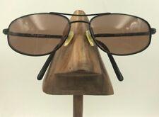 Vintage Polo Sport Ralph Lauren 1091/N/S X76 Black Metal Oval Sunglasses Frames