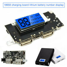 18650 Lithium Battery Charger Module MainBoard Dual USB Digital Display Screen