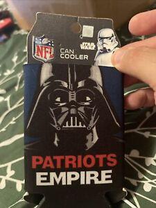 New England Patriots NFL Can Holder Cooler Bottle Sleeve Star Wars Darth Vader