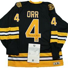 BOBBY ORR SIGNED Boston Bruins ADIDAS® Jersey W/COA GNR Autographed Fight Strap