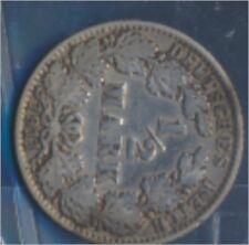 alemán Imperio añosägernr: 16 1911 años muy ya Plata 1911 1/2 marcos gra(7859346