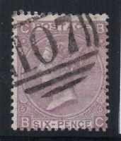 Großbritannien 1865 Mi. 25 Gestempelt 60% 6 Pence, Königin V.