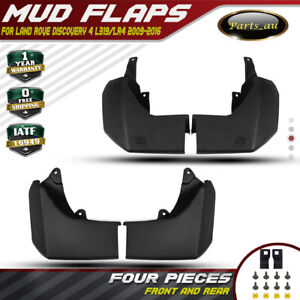 Set of 4 Mud Flap Splash Guards for Land Rover Discovery 4 L319 Series 2009-2016