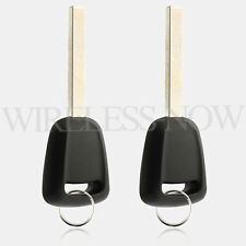 2 Car Transponder Entry Remote Chip Key Blank Blade For 2015 2016 2017 GMC Yukon