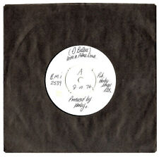 """MEGA RARE"".STEVE HARLEY/COCKNEY REBEL.LOVES A PRIMA DONA.UK ""WHITE LABEL"" 7"".EX"