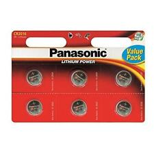 Panasonic CR2016 Batteries Lithium Battery 3v Button Coin Cell