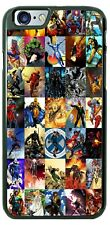 Marvel Comics Super Heroes Collage Phone Case Cover For iPhone Samsung Google