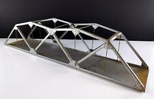 """Junior Bridge Co. 26-3/4"""" Silver Truss Bridge For Lionel O, American Flyer S"""