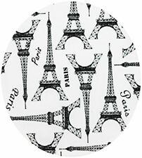 Silicone Trivet - Eiffel Tower/Paris Design Black & White - Stylish & Functional