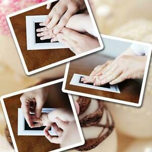 Inkless Wipe Baby Hand Foot Print Kit Keepsake New born Footprint Handprint Safe