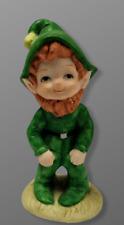 New ListingLeprechaun Boy Freckles St Patrick's Day Irish Figurine 3.5� Tall