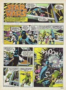 Star Wars #42 by Russ Manning - full page color Sunday comic - December 23, 1979