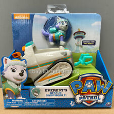 nickelodeon PAW Patrol Dog Everest's Rescue Snowmobile Model Car kid Toy instock