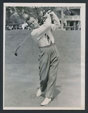"1936 ""Early Masters Tournament"", Al Watrous Drives Off the Tee (Clubhouse) Photo"