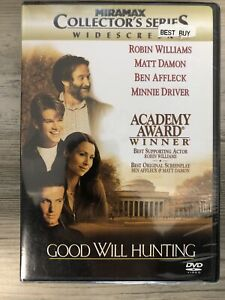 Good Will Hunting DVD Widescreen Miramar Collector Series NEW SEALED Williams
