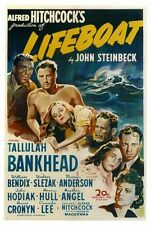 LIFEBOAT Movie POSTER 27x40 Tallulah Bankhead John Hodiak William Bendix Canada